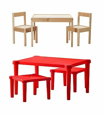 Childrens Table With Chairs and Table With Stool Suitable For indoor & Outdoor