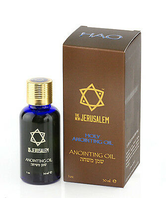 NEW Holy Anointing Oil from Jerusalem Based on Scriptures 30 ml-New Jerusalem