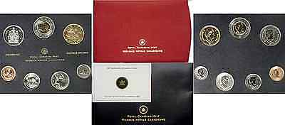 2007 Canada 7 Coin Specimen Set With Trumpeter Swan Dollar OGP W/COA
