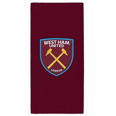 West Ham United FC Official Large Beach Towel