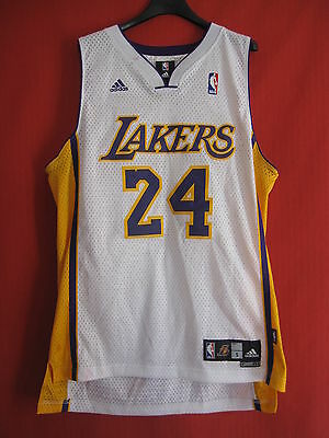 Maillot Basket Adidas Los Angeles NBA Bryant Lakers vintage USA - S