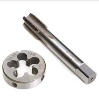 5/8-24 UNEF Right Hand Tap with Round Die