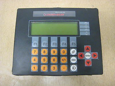 Lenord+Bauer Motion Line GEL 8230Y005 Wind Power Plant Pitch System Control Used