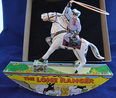 Schylling The Lone Ranger Wind Up Tin Toy Limited Edition Certificate