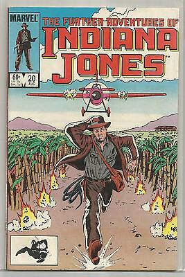 Vintage Marvel Indiana Jones comic book #20 from August 1984