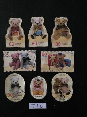 Teddy Bears Christmas Greetings Peluches Peluche Ositos Osito  Used Japan Stamps
