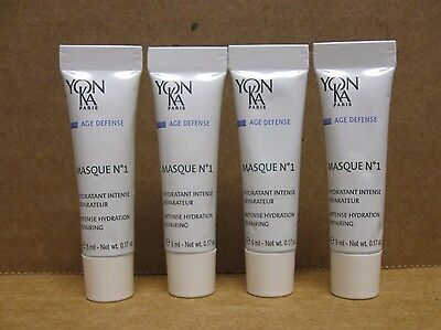 Yonka Masque No 1 Hydration Mask Sample Size of 4 New and Sealed - 5 ml /0.17 oz