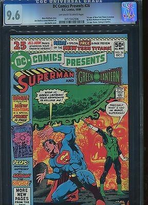 DC Comics Present #26 CGC 9.6 1th of New Teen Titans D.C Comics
