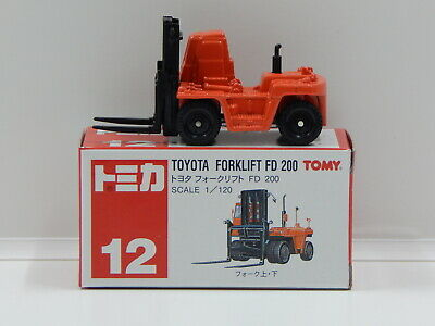 1:120 Toyota Forklift FD 200 - Made in China Tomica 12