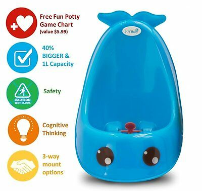 Boys Toddler Whale Urinal Kids Baby Potty Bathroom Toilet training Children Pee