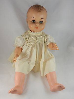 "AE Allied East 14 1/2"" Jointed Baby Doll w/Molded Hair"