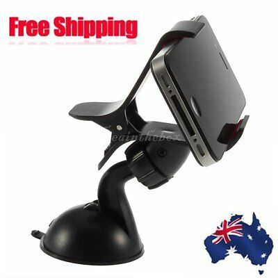 Universal 360Rotation Car Mount Holder Windshield Bracket for GPS Cell Phone HOT