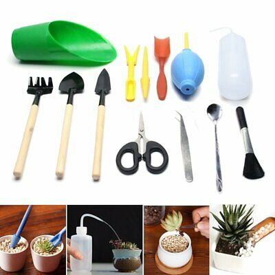 13 Pcs Toolsgarden Set Succulent Transplanting Mini Garden Trimmeryard Tools