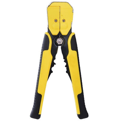 Adjustable automatic wire stripper 0.5-6.0mm yellow F6