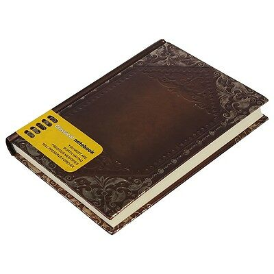Retro Vintage Personal Notebook Diary Journal Organiser Book School Office F6