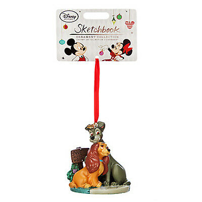 2014 Disney Lady and the Tramp ~ DISNEY SKETCHBOOK ORNAMENT ~