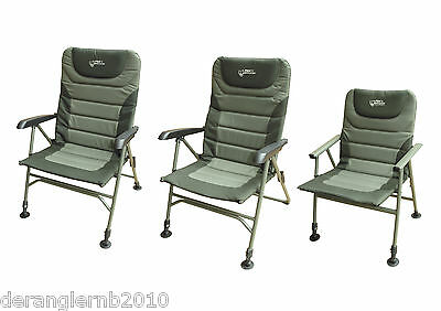 Fox Warrior Compact Arm Chair XL Karpfenstuhl Angelstuhl CBC033 CBC043 CBC044