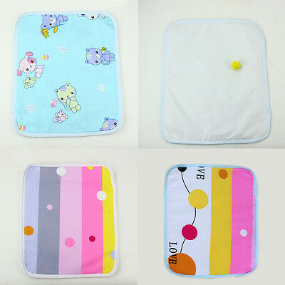 Portable Urine Mat Waterproof Baby Infant Bedding Changing Nappy Cover Pad
