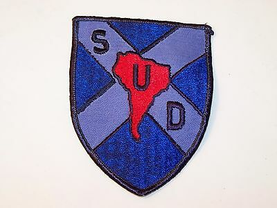 Vintage Sud South America Patch