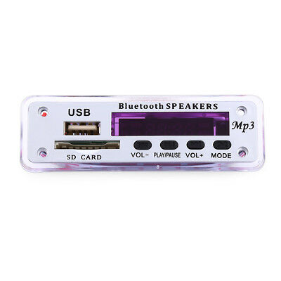 Car Vehicle M01BT MP3 Decoder Board Bluetooth Hands-free Call Remote Control Hot