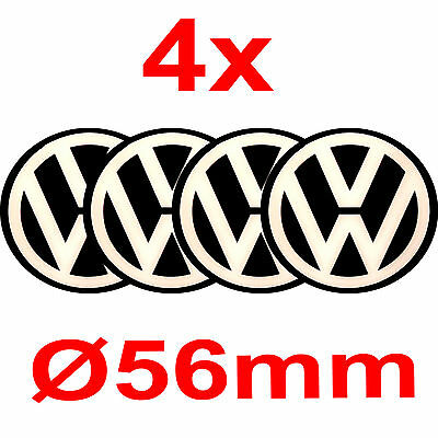 3 x vw aufkleber emblem f r felgen radkappen aluminium. Black Bedroom Furniture Sets. Home Design Ideas