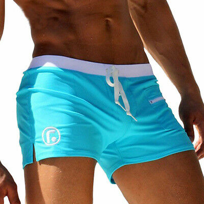 Men's Swimsuits Surf Board Beach Wear Man Swimming Trunks Boxer Shorts L3