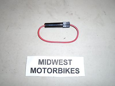 Inline Fuse Holder For Vintage Bikes Triumph Bsa Norton Honda And Others