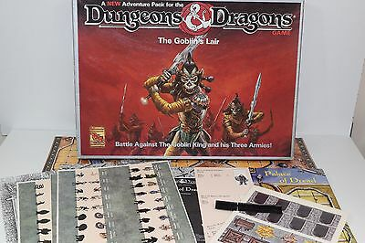 Dungeons & Dragons: The Goblin's Lair Board Game MISSING DICES