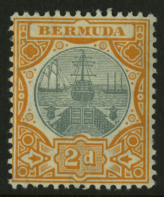 Bermuda  1906-10  Scott # 36  Mint Very Lightly Hinged