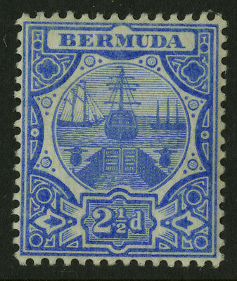 Bermuda  1906-10  Scott # 38  Mint Hinged