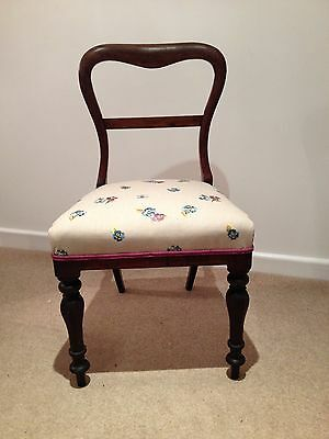 Individual Chair Newly Upholstered
