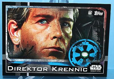 Topps Star Wars Rogue One Karte Nr.24 Direktor Krennic