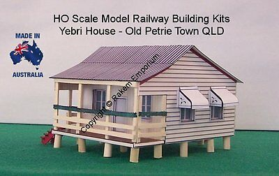 HO Scale Old Style Kit Home 1890's Yebri House Model Railway Building Kit  YHPT1