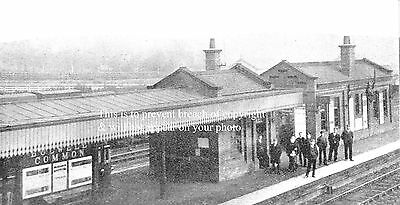 Photo Of Bulwell Common Railway Station Nottingham 1900 Great Central Railway