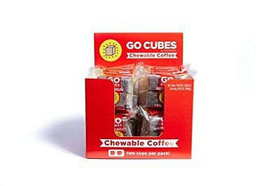 Go Cubes Chewable Coffee - Box of 20 X 4-packs