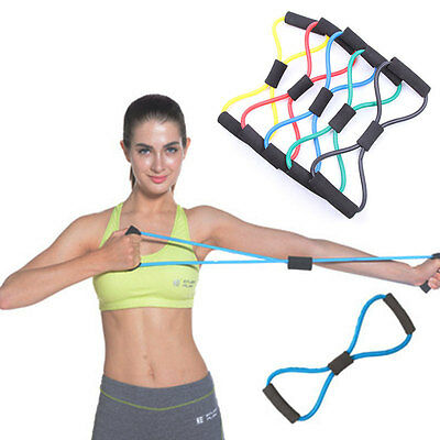 Elastic Tension Durable Rope Chest Expander Yoga Pilates Fitness Belt Body Shape