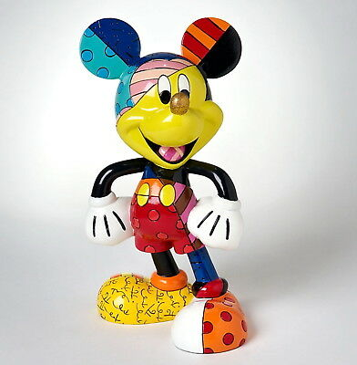 "DISNEY by Romero Britto Skulptur ""Mickey Mouse Classic"" Enesco Figur 4019372"