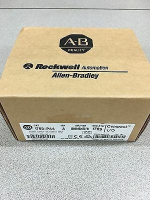 NEW FACTORY SEALED ALLEN-BRADLEY CompactLogix POWER SUPPLY 1769-PA4 SERIES A