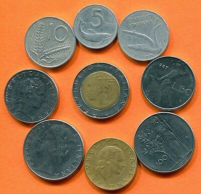ITALY Coin. Italian Coins Collection, Mixed Lot  L10421