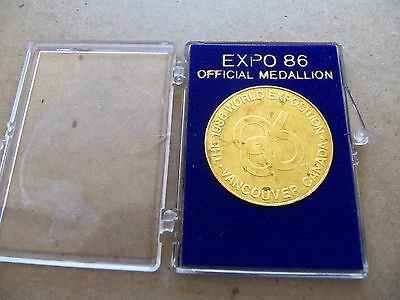 1986 World Exposition Coin, from Vancouver Canada, in Original case