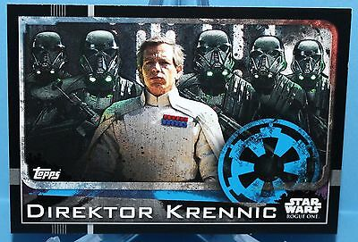 Topps Star Wars Rogue One Karte Nr.23 Direktor Krennic