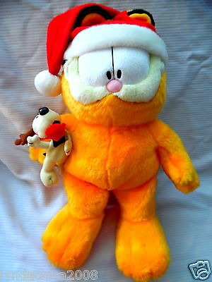 Vintage Garfield Christmas Odie 25th Anniversary Macy's Limited Edition