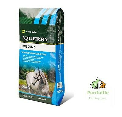 20Kg Equerry Cool Cubes High Fibre Low Energy Mix + Magnesium Horse Food Feed