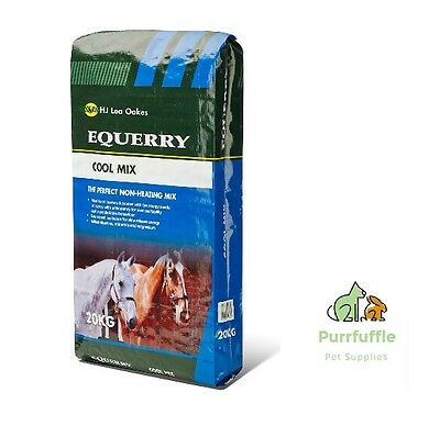 20Kg Equerry Cool Mix High Fibre Low Energy Vitamins + Magnesium Horse Food Feed