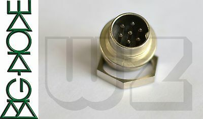 T3477009 Circular Connectors C091A Male receptacle front mounting