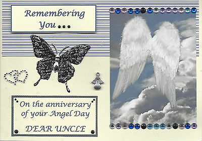 Angel Day (Uncle) : Graveside Family Memorial Cards