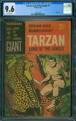 Tarzan, Lord of the Jungle 1 CGC 9.6 - OW Pages - 1965