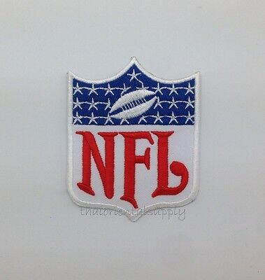 NFL National Embroidered Iron On Football League Team Logo Patch  Badge Sports