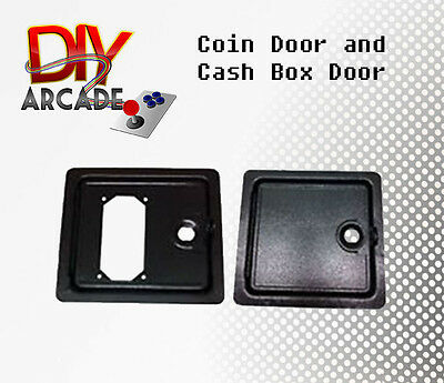 Arcade Game Coin Door and Cash Box Access with Cam Locks Sturdy Reliable