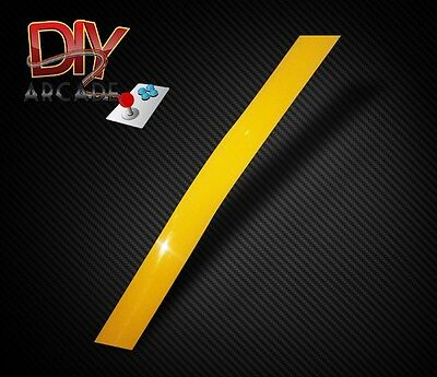 T-Moulding Per Meter 16mm for Arcade Machine Cabinet High Quality Yellow